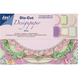 Joy!Crafts Joy! Crafts Die Cut Design Paper Roses