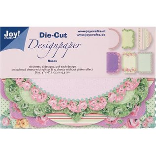 Joy!Crafts / Hobby Solutions Dies Joy! Crafts Die Cut Design Paper Roses