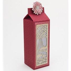 CREATIVE EXPRESSIONS und COUTURE CREATIONS Stansning og prægning stencil Den Festive Collection - vise mænd Mini Striplet