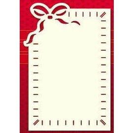 KARTEN und Zubehör / Cards Placer cartão de luxo, 3 peças, 10 x 15 centímetros