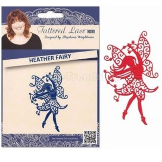 Tattered Lace Stamping and punching template, Tattered Lace, punch template Elfe size approx 69 x 118 mm