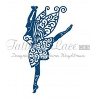 Tattered Lace Presning og stansning skabelon, Tattered Lace, Graceful fe
