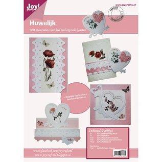 Joy!Crafts / Hobby Solutions Dies Bastelset voor het ontwerpen van trouwkaarten