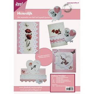 Joy!Crafts / Hobby Solutions Dies Bastelset zur Gestaltung von Hochzeitskarten