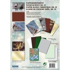 DESIGNER BLÖCKE / DESIGNER PAPER Card stock Set de Noël