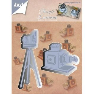 Joy!Crafts / Hobby Solutions Dies Stempling og Embossing stencil, Joy Crafts, kamera på stativ, Zauberlaterne