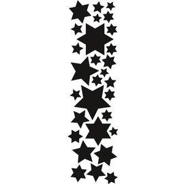 Marianne Design Stampaggio e goffratura stencil, Marianne design stelle