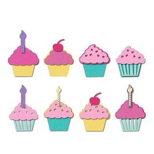 Sizzix Stanz- und Prägeschablone, Sizzix, ThinLits, Cupcakes