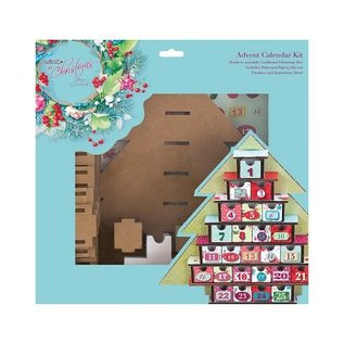 Docrafts / Papermania / Urban Advent Kalender Kit - Lucy Cromwell Met Kerstmis