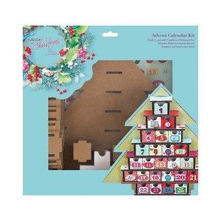 Docrafts / Papermania / Urban Julekalender Kit - Lucy Cromwell Ved juletid