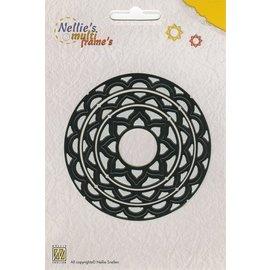 Nellie Snellen Socos e estampagem modelo Nellie`s Multiframe cirkel