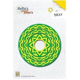 Nellie Snellen Stanz- und Prägeschablone, Nellie`s Multi Frame cirkel