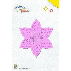 Nellie Snellen Poinçonnage et de gaufrage modèle Nellie`s multitrame, Poinsettia