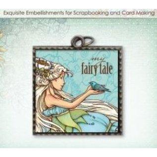 Embellishments / Verzierungen Charm métal Fairy Tale
