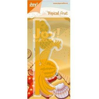 Joy!Crafts / Hobby Solutions Dies Stansning og prægning stencil grænse med frugt