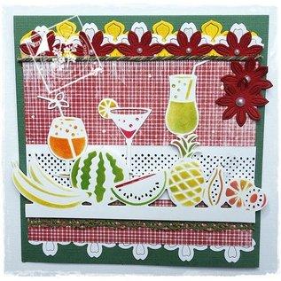 Joy!Crafts / Jeanine´s Art, Hobby Solutions Dies /  Stanz- und Prägeschablone, Bordüre mit Fruchten