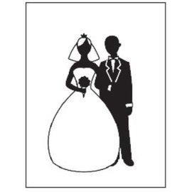 embossing Präge Folder Embossing pastas, tema: Wedding