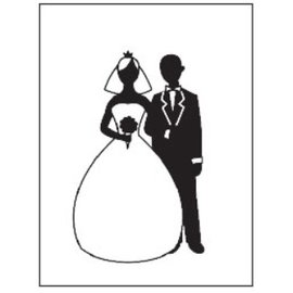 embossing Präge Folder Goffratura cartelle, tema: Wedding