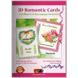 KARTEN und Zubehör / Cards Bastelbuch voor het ontwerpen van romantische kaarten 6
