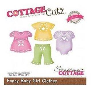 Cottage Cutz Poinçonnage et le modèle de gaufrage CottageCutz: vêtements bébé fille