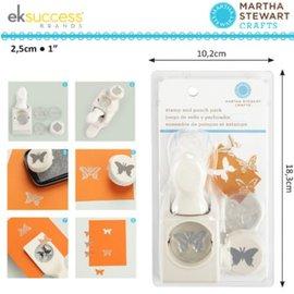 EK Succes, Martha Stewart Martha Stewart, postzegels en stempels: Vlinder