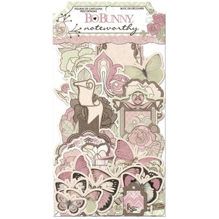 BO BUNNY Noteworthy Primrose, 45 Teile