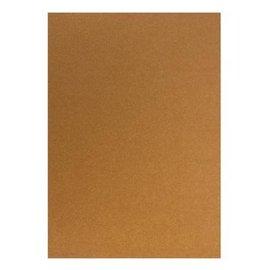 DESIGNER BLÖCKE / DESIGNER PAPER Kartonset Metallic A5, rame, 20 fogli, 250g