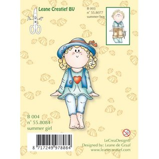 Leane Creatief - Lea'bilities Clear stamps, filles Bambini