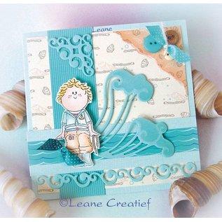 Leane Creatief - Lea'bilities Klare stempler, Bambini drenge