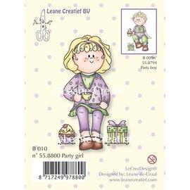 Leane Creatief - Lea'bilities Clear stempels, Party girl