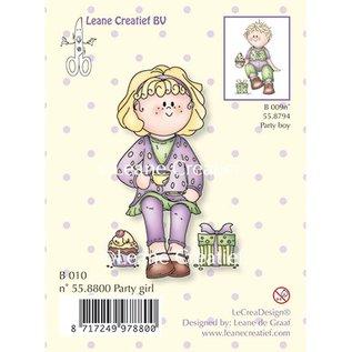 Leane Creatief - Lea'bilities Transparent Stempel, Party girl