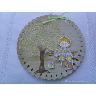 Leane Creatief - Lea'bilities Clear stamps, Party Boy