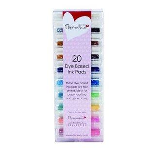 20 mini-tampon encreur