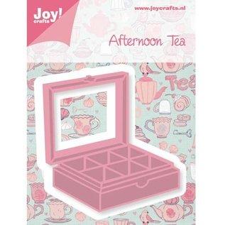 Joy!Crafts / Jeanine´s Art, Hobby Solutions Dies /  Stansning og prægning skabelon teebox