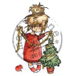 Marianne Design Clear stamps, Snoesjes - Petit arbre de Noël