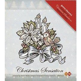 Yvonne Creations Limpar selos, Yvonne Creations, flores e velas