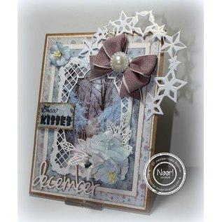 Joy!Crafts / Hobby Solutions Dies Stempelen en embossing stencil, het frame rechthoek filigrane, Ov ale frame en label