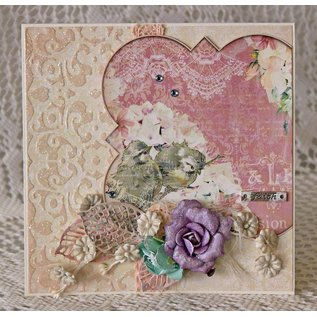 BO BUNNY Ontwerper papier, 30,5 x 30,5 cm, Bo Bunny Madeleine geluk