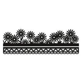Marianne Design Puncionar e molde de estampagem Craftables - flor de fronteira de Anja
