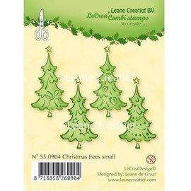 Leane Creatief - Lea'bilities tampons transparents, des arbres de Noël