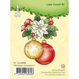 Leane Creatief - Lea'bilities Timbri trasparenti, ornamento di Natale 2