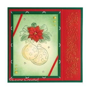 Leane Creatief - Lea'bilities Clear Stamps, kerstbal 2