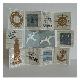 Joy!Crafts / Jeanine´s Art, Hobby Solutions Dies /  Transparante stempel op en op zee