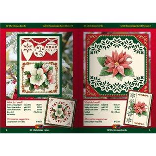 KARTEN und Zubehör / Cards A5 Bastelbuch pour 6 cartes 3D Noël + 6 cartes Layouts