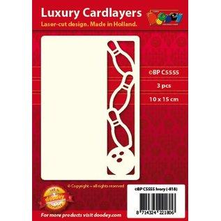 KARTEN und Zubehör / Cards Et sæt af 3 Luxury card lag A6, Tema: Bowling
