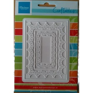 Marianne Design Punching and embossing templates Craftables - Passe-partout rectangle