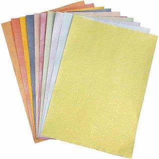 DESIGNER BLÖCKE / DESIGNER PAPER papier Pearl, A4 21x30 cm, nacrée, 50 feuilles!