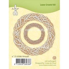 Leane Creatief - Lea'bilities Klare stempler, Leane Creative, Spring krans