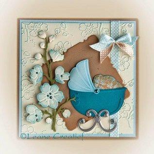 Leane Creatief - Lea'bilities Ponsen - en embossing sjabloon: Thema van de baby