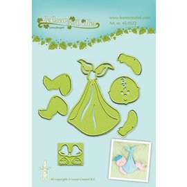 Leane Creatief - Lea'bilities Leabilities, cutting and embossing stencil, baby